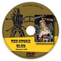 The Stork Club 1945 Classic DVD Film Comedy, Musical, Romance