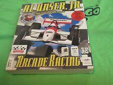 Al Unser, Jr. Arcade Racing (PC, 1995 - PC CDRom Game - BOX - Windows 95