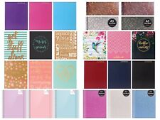 A6 Hardback  Notebook Lined Ruled Journal Notepad Office School Diary