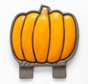 Fall Pumpkin Door Knocker Top Topper, Midwest of Cannon Falls. Rare! CF