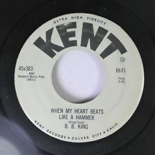 Blues 45 B.B. King - When My Heart Beats Like A Hammer / Going Down Slow On Kent