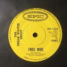"THE EDGAR WINTER GROUP: ""FREERIDE"" on UK EPIC 8315"