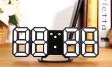 2018 3D Orologio da parete moderno Digitale LED Orologio da tavolo allarme Orologio automatico della luminosità