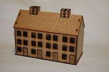 Casa de Segunda Guerra Mundial #2 15mm X010 terreno escala edificio &