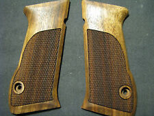 Jericho 941FS/Magnum Baby Eagle ONLY Fine English Walnut Checkered Pistol Grips