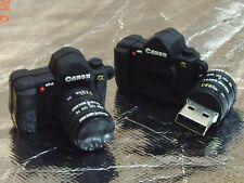 Black Camera Shape Funny USB Flash Drive -Best i_p.mium Gift to him 16 GB Canon