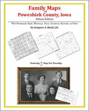 Family Maps Poweshiek County Iowa Genealogy IA Plat