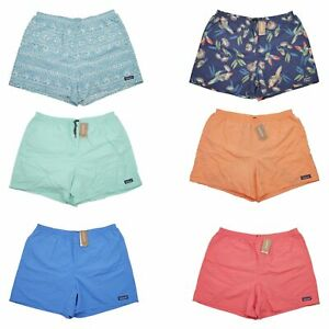 "Patagonia Mens Baggies Swim Trunks Nylon DWR Sizes XL XXL Surf Water 5"" Shorts"