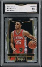 2016-17 PANINI SELECT BEN SIMMONS ROOKIE #60......GMA 10 GEM MINT