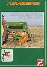 Amazone kreiselgrubber kreiselegge prospectus 1/99 brochure 1999 brochure catalogue