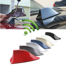 Shark Fin Roof Antenna Aerial FM/AM Radio Signal Decoration Car Accessories Trim