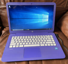 Hp stream 11 Laptop with charger Purple