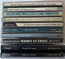 Woody Guthrie CD Sammlung 13 CDs