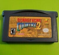 Donkey Kong Country 2 (Nintendo Game Boy Advance, 2004) ***GBA ***Tested