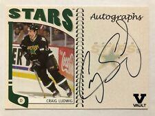 2004-05 ITG Franchises US West Autographs Craig Ludwig Auto Vault Version #A-CLU