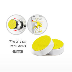 Tip 2 Toe Disks (24-pack) Fine