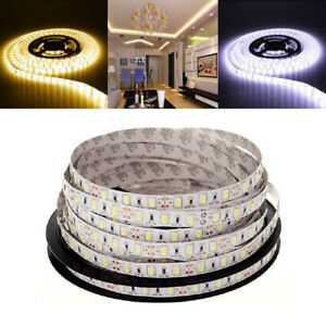 Super Bright 5M SMD 300 LED 5630 Waterproof Flexible Strip Light 12V White/Warm