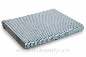 50 x Black Cushion Nail Files Grit- 100/180