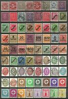 Germany Weimar Reich 1903-1943 - Mint/Used Officials incl. 5 Sets (2 Scans)