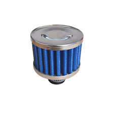 Entlüftungsfilter Mini blau Sportluftfilter 12mm Gehäuse Getriebe Luftfilter