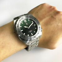San Martin Men's Automatic Diver Watch 50ATM Stainless Steel Watches ST2130Mov't