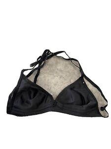 Vintage Formfit Black Non Padded Lace Bra Size 34A