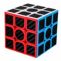 3x3 - carbon Zauberwürfel Speedcube Magic Cube Magischer Würfel