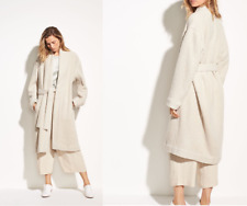 NWT Vince $795 Oversized Wool Boucle Coat in Chalet; M