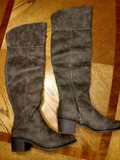 Massini Kimberly over the knee brown boots, size 7