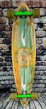 "44"" Sector Nine G-Land Java Bamboo Longboard Skateboard Complete Gullwing Trucks"