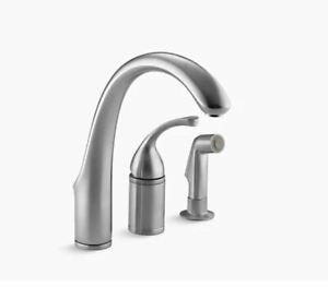 Kohler Forte Kitchen Faucet K-10430-G - Brushed Chrome
