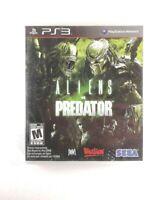 Aliens vs. Predator - (Sony PlayStation 3, 2010) VG, Complete, CIB, *TESTED*