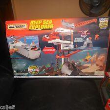 RARE 1999 MATCHBOX HUGE 2' DEEP SEA EXPLORER PLAYSET & COAST GUARD CD ROM SEALED