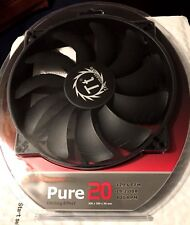 Lot of 2 Thermaltake Pure 20 200mm Computer Fans  129.6 CFM   28.2 dBA   800 RPM