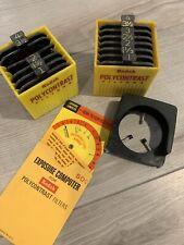 Kodak  00004000 Polycontrast Filter Kit Model A & Filter Computer Wheel Free Shipping