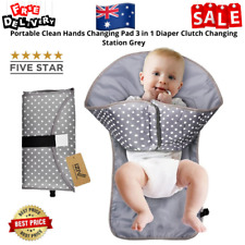 iZiv Nappy Clutch Clean Hands Changing Pad - Grey (FH0023J-1)