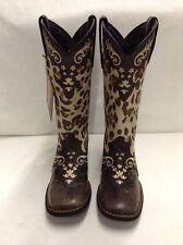 Women's Crush by Durango, Leopard Print Boots, Sz 8