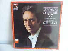 BEETHOVEN Symphonique N°7 Chicago symph orchestra GIULINI C039 02165