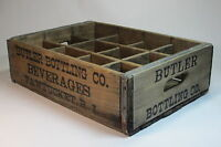 Antique Vintage Advertising Wooden Crate