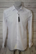 Olymp Galahemd Modern Fit Kent Umschlagmanschette weiß, Gr. 38