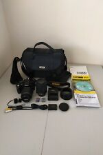 Nikon D3200 24.2 MP Digital SLR Camera *Big Bundle*  *Excellent Condition*