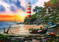 500 Pieces Jigsaw Puzzle Beach Sunset - Brand New & Sealed