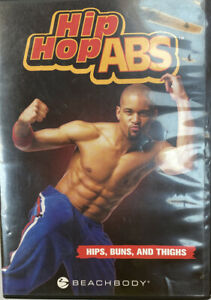 Beachbody HIP HOP ABS 3 workout DVD Hips, Buns, and Thighs