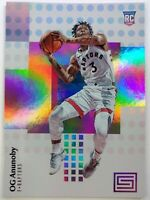 2017-18 Panini Status OG Anunoby Rookie RC #126, Toronto Raptors