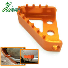 Motorcycle Rear Brake Pedal Step Plate Tip For KTM 65 85 125 530 SX SXF Pedal