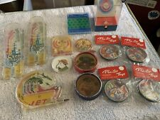 Junk Drawer Vintage Metal & Plastic Dexterity Toys, Marx, Japan, NOS, Great!!