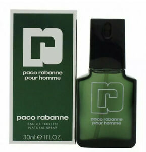 PACO RABANNE POUR HOMME 30ML EAU DE TOILETTE SPRAY BRAND NEW & SEALED