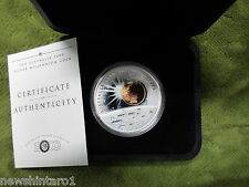 #D258.  1999 &  2001 SILVER  COINS - EARTH/MOON/STARS & CLEOPATRA'S NEEDLE