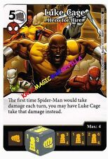 061 LUKE CAGE Hero for Hire -Common- THE AMAZING SPIDER-MAN Marvel Dice Masters