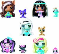 Monster High Minis Draculaura Frankie Stein Clawdeen Wolf Cleo De Nile Lagoona &